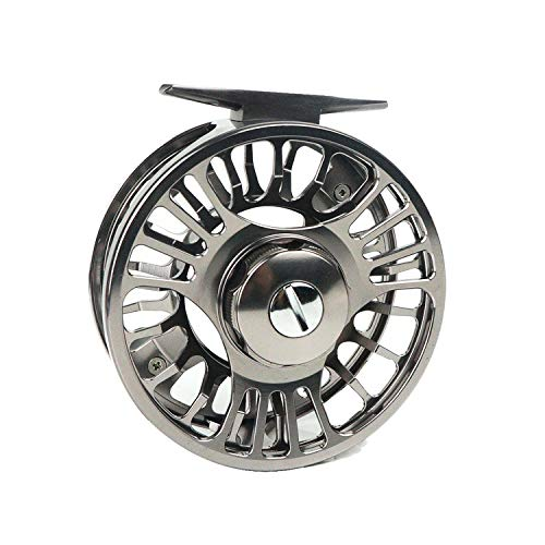Riverruns Z Super Light Water Proof CNC Machined Drag Disc Super Larger Arbor Fly Fishing Reel 3/5, 5/7, 7/9 Ideal Fly Fishing (7/9)
