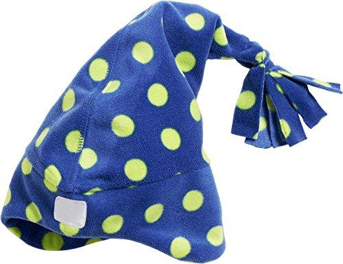 de 11 Gorro Adulto Fleece marino Playshoes Zipfelmütze Unisex azul Punkte Punto q1Ia7w