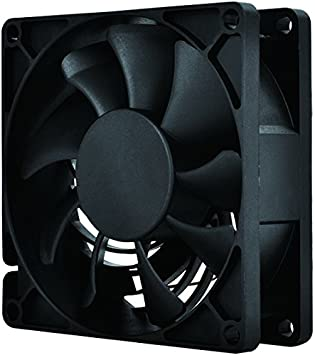 SilverStone Technology Air Penetrator AP81 80mm Fan in Black Cooling