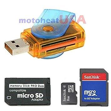 Amazon.com: Mallmart - Adaptador de microSDHC a Memory Stick ...