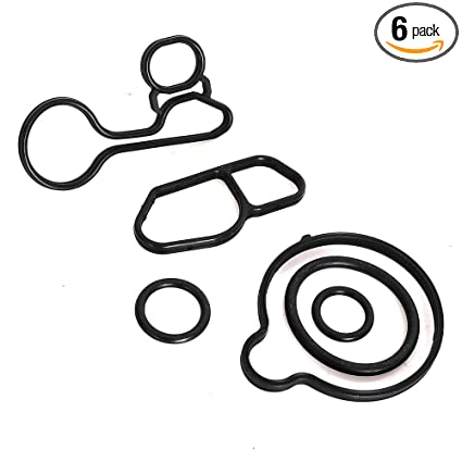 Amazon.com: Oil Cooler Seals Kit 55568539 For Chevrolet Cruze Sonic Trax FILTER HOUSING: Automotive