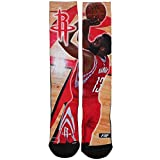 Houston Rockets 308S Center Court James Harden Mens Sublimated Socks Large