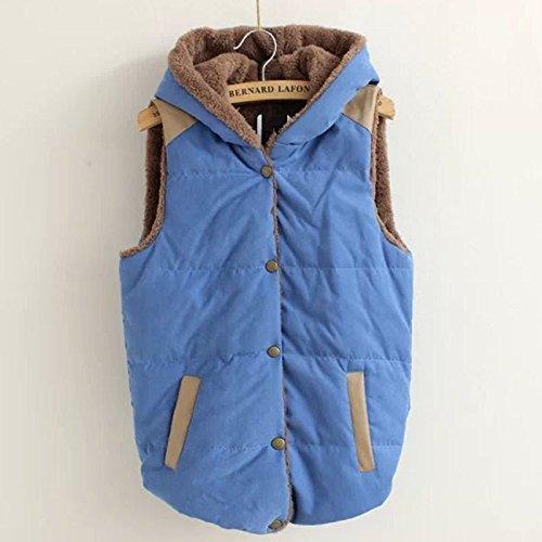 Manche Manteau sans Veste Blouson Femme Chaud Jacket CRAVOG Rq4aISAn
