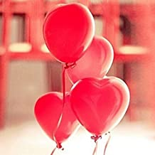 100PCS 12inch Red Heart Latex Balloons Party Decoration // 100pcs 12inch decoración de globos de látex rojo corazón partido