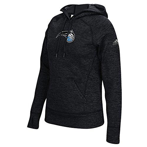 adidas NBA Orlando Magic Women's Team Logo Fleece Pullover Hoodie, X-Large, Black (Sweatshirt Hoody Official Team)