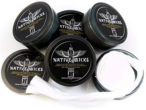 Native Wicks Cotton - Pima Blend 3ft (Best Wicking Material For Vaping)