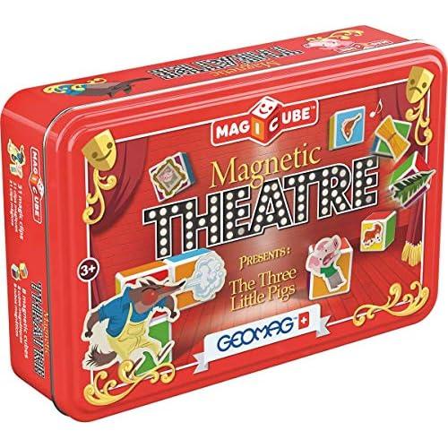 chollos oferta descuentos barato Geomag 150 Magicube Magnetic Theatre 42 Piezas
