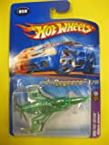 Hot Wheels 2005 Poison Arrow First Editions #59 Green 9/10 KMART EXCLUSIVE Plane