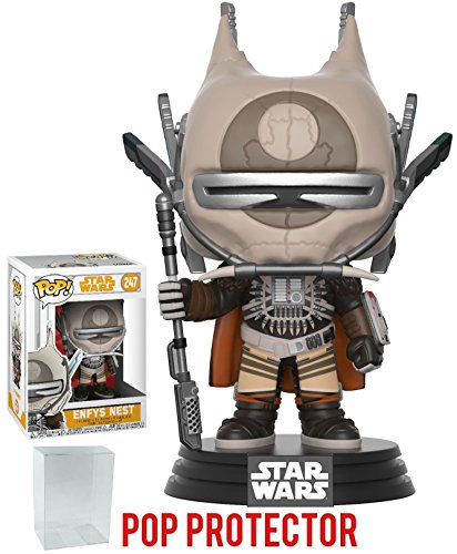 Funko Pop  Star Wars  Solo   Enfys Nest Vinyl Figure  Bundled With Pop Box Protector Case