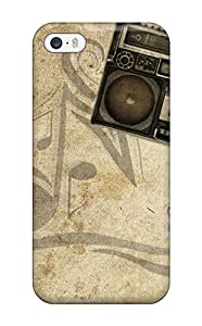 Tough Iphone KOdNJYR7501pBFdQ Case Cover/ Case For Iphone 5/5s(music Art )