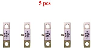 Actmei 5pcs 100W 50ohm Dummy Load RF RFP 1109 Resistor Microwave Power Resistor Watt 50Ω 0-6GHz