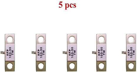 Actmei - Resistencia para microondas (5 Unidades, 100 W, 50 Ohm ...