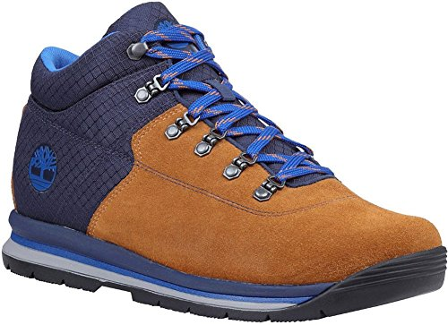 How To Waterproof Suede Boots - Timberland Mens GT Rally Mid Leather/Fabric Boot, Medium Brown Suede/Fabric, Size 10