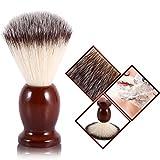 Cimenn Professional Male Beard Shaving Brush Facial Cleaning Nylon Hair & Wood Handle Barber Tool