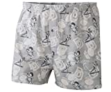 Big Dogs College Football Printed Flannel Boxers 3X Gray