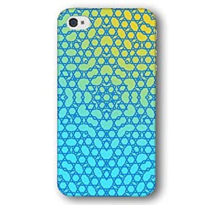 Kaleidoscope Jewish Star of David Hanukkah For Iphone 5/5S Case Cover Slim Phone Case