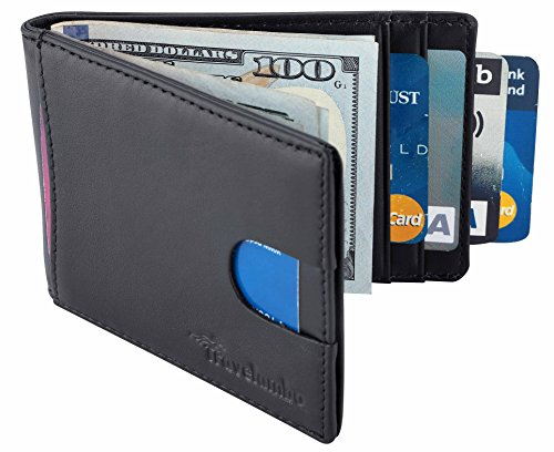 Travelambo Blocking Pocket Minimalist Wallet product image