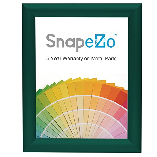 "SnapeZo Photo Frame 8x10 Inches, Green 1.2"" Aluminum Profile"