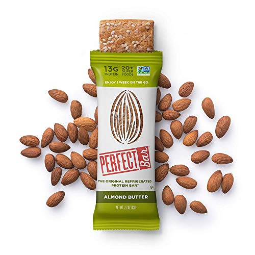 Perfect Bar Original Refrigerated Protein Bar, Variety Pack Peanut Butter & Almond Butter, 12-17g Whole Food Protein, Gluten Free and Non-GMO, 2.5 Oz. Bar (Pack of 8) by Perfect Bar (Image #12)