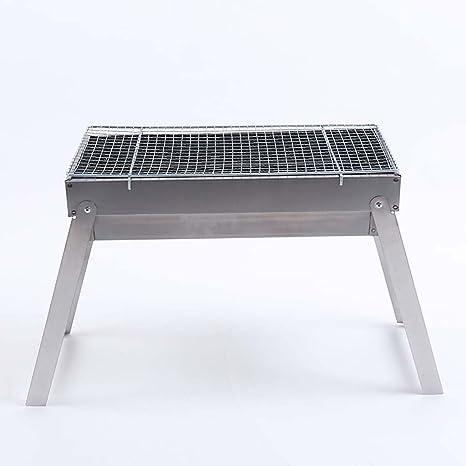 J&A Parrilla para Barbacoa de Picnic, portátil de carbón ...