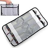 HOBBYTIGER 6 Pocket Organizer Fireproof RC LiPo Battery Bag Safe Storage Charging Sack