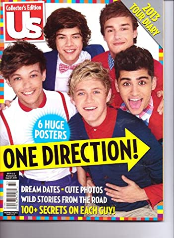 ONE DIRECTION - Us Collector's Edition - 6 Huge Posters - 2013 Tour Diary. (One Direction Huge Posters)