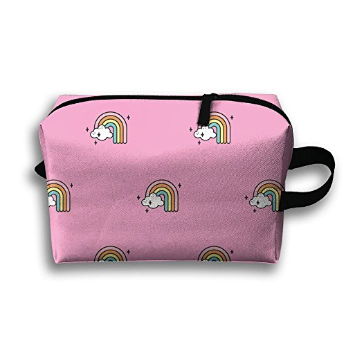 Women Rainbows Full 3D Sublimation Accessories Bag For Campus - Campus Kit Bed