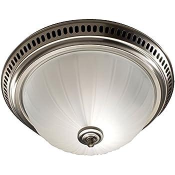 Hunter 80705 garden district brushed nickel bath exhaust - Brushed nickel bathroom exhaust fan ...