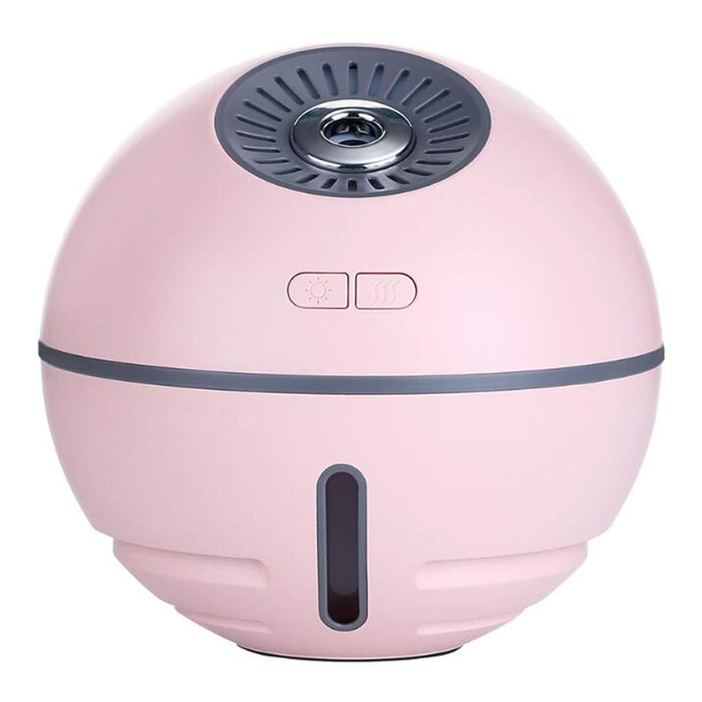 Humidificador de niebla fría,función de interfaz USB humidificador ultrasónico silencioso con luces LED,apagado automático,purificador de aire de batería de ...