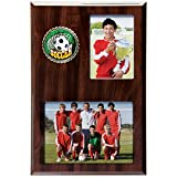 Photo Wood Team Picture Frame Remembrance Plaque - Case of 12