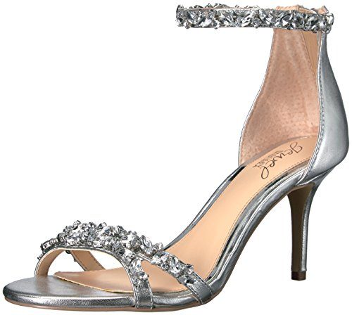 Sandal Jewel Caroline Dress Silver Mischka Badgley Women's z7nS6w5x