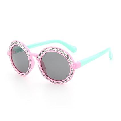 Gafas de moda Forma redonda brillante Gafas de sol para ...
