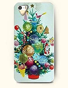 OOFIT iPhone 5 5s Case - Merry Christmas Xmas DšŠcor