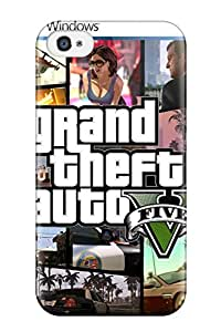 Juree Regazzi Scratch-free Phone Case For Iphone 4/4s- Retail Packaging - Grand Theft Auto