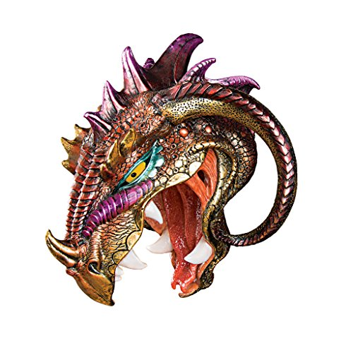 Design Toscano Astaroth, Prince of Hell Dragon Wall Sculpture
