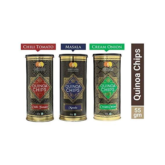 Queens Quinoa People's Favourite Original, Flavoured Quinoa Chips