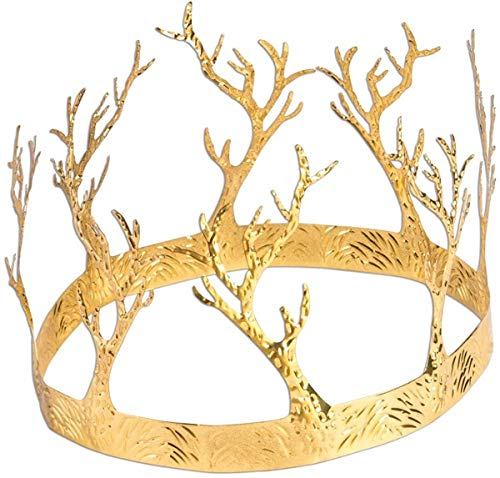 Forum Novelties Mens Medieval Fntsy Crown of Antler, Multi, Standard