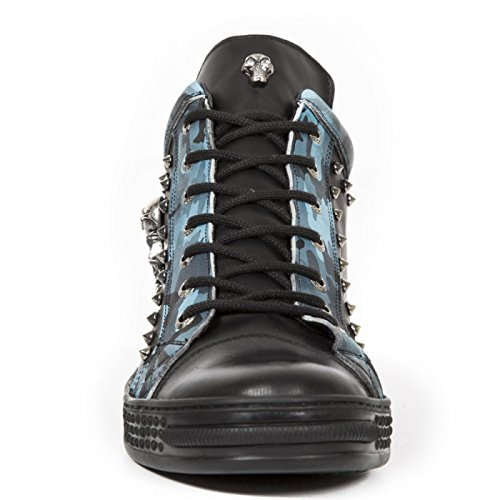 New Rock Støvler M.ps020-c3 Gotisk Hardrock Punk Unisex Sneeker Sort cAXOEhR5mF