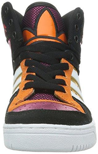 adidas Women's M Attitude W, Black/White/Pink, 6 US