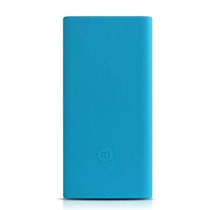 big sale 066cc a8282 AWINNER Silicone Protector Case Cover for Mi 10000mAH Power Bank 2i (Blue)