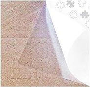 PUZZLE EZ - Juego de 4 hojas de pegamento para puzle, color transparente