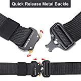 KingMoore Mens Tactical Belt, Military Style