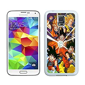 Dragon Ball Z HD-640x1136 wallpapers White Unique Hard Samsung Galaxy S5 I9600 Phone Case