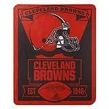NORTHWEST NFL Cleveland Browns Fleece Throw