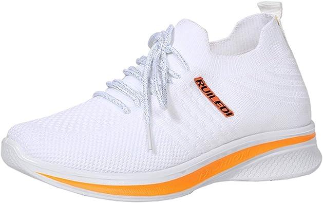 AOQUNFS Zapatillas de Baile Jazz de Mujer Zapatillas de Deportivos Entrenamiento Running Gimnasia,YMJ8196: Amazon.es: Zapatos y complementos