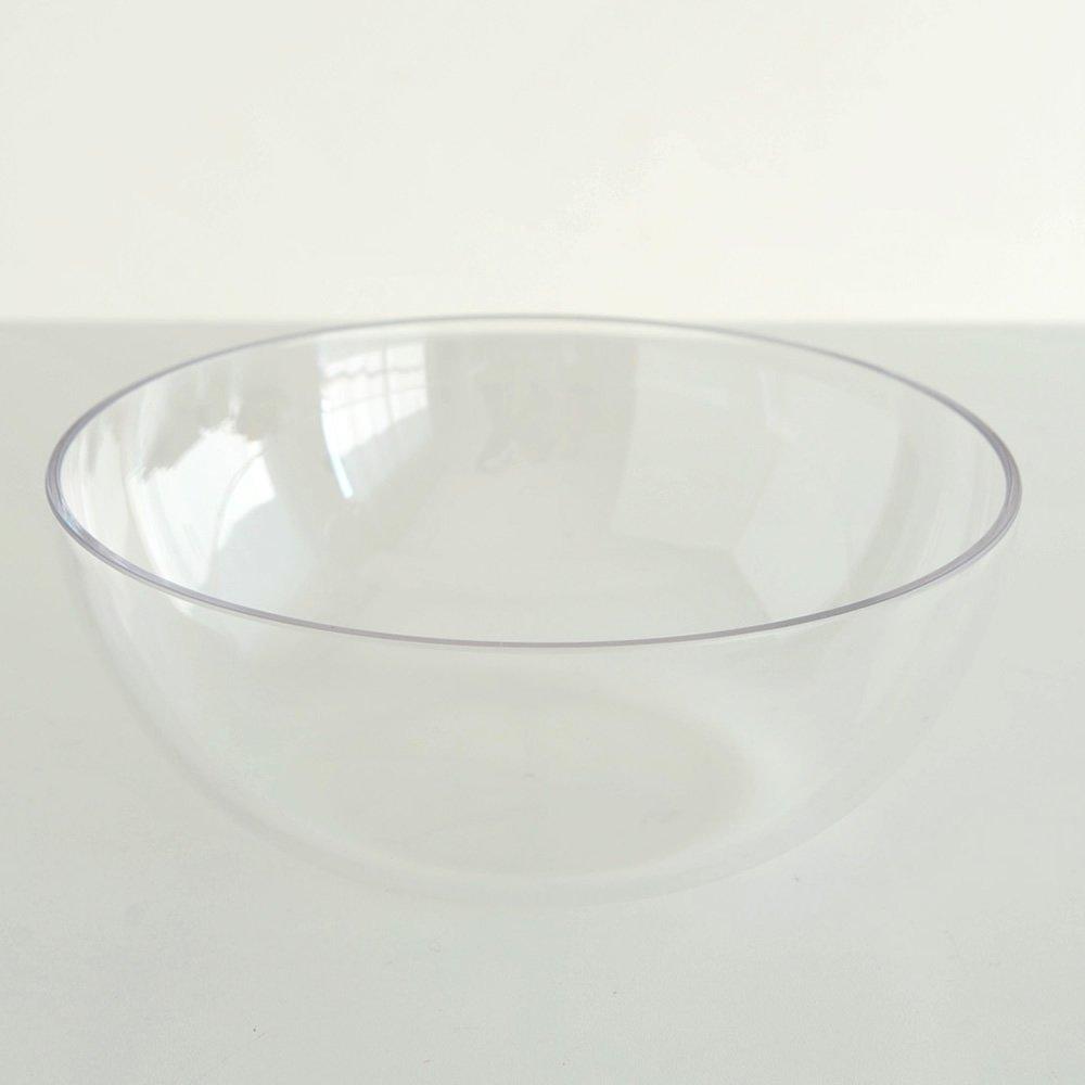 2.6 Unknown/_Modifier Alessi ESI01//25BW Mediterraneo Schale aus thermoplastischem Harz 25,0cm transparent