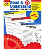 img - for Read & Understand with Leveled Texts, Grade 4 (Read & Understand with Leveled Texts) (Paperback) - Common book / textbook / text book