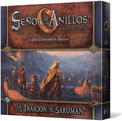 Fantasy Flight Games-La Traición de Saruman (EDGMEC45): Amazon.es: Juguetes y juegos