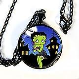 Betty Boop Halloween - Pendant Necklace - HM