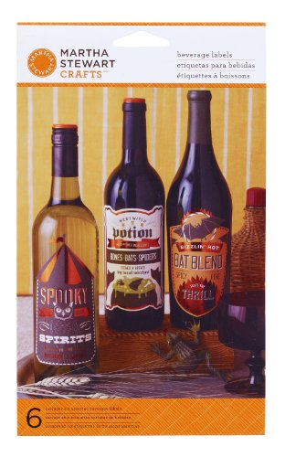 Martha Stewart Crafts Wine Label, Carnival